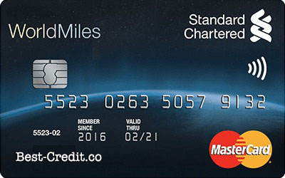 Standard Chartered WorldMiles MasterCard