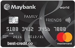 Maybank Family & Friends Card