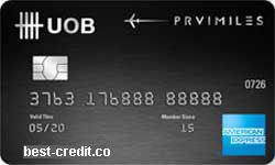 UOB PRVI Miles American EXPRESS® CARD