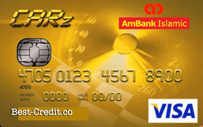 Ambank Islamic Visa Gold CARZ Card-i